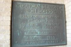 Duncan-Senior-High-School-PWA-Plaque