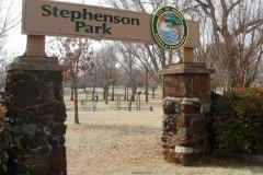 Stephenson-Park-Entrance