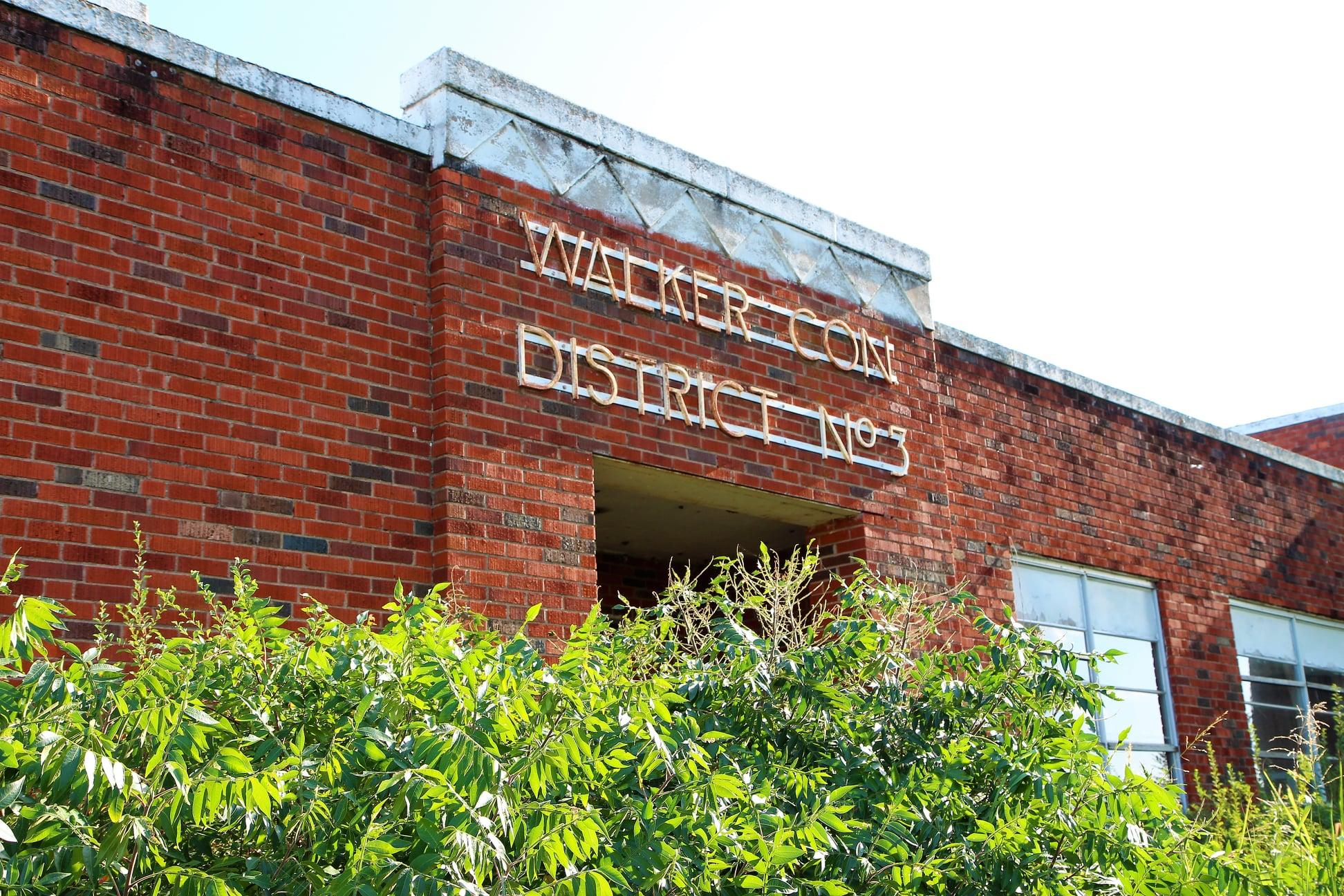 Walker School Front